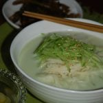 Kongguksu (Chilled Soy Milk Noodles)