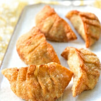 Deep fried Korean dumplings