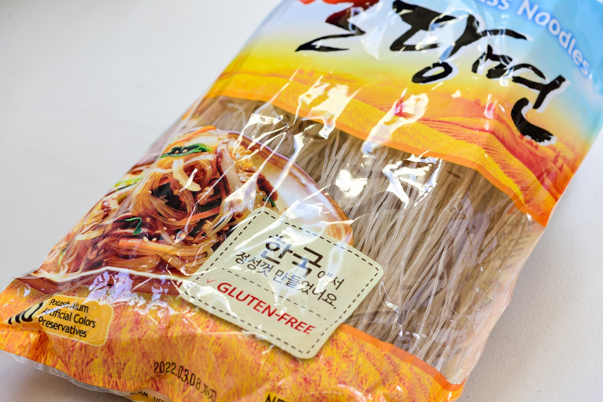 Korean sweet potato starch noodles