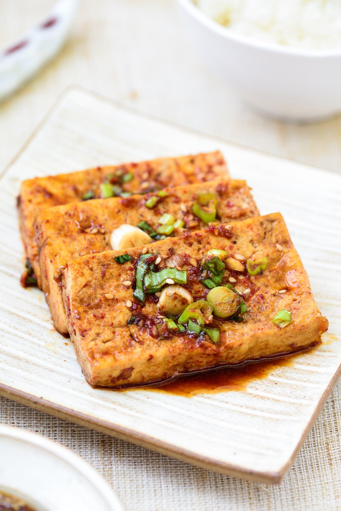 DSC3340 2 - Dubu Jorim (Braised Tofu)