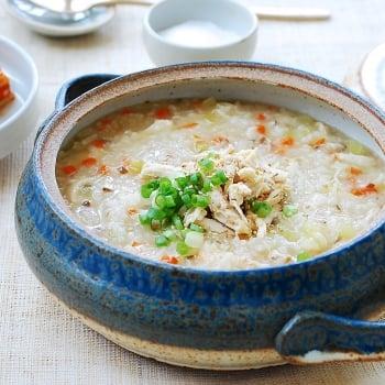 DSC 0061 350x350 - Dakjuk (Korean Chicken Porridge)