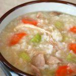 Dakjuk (Korean Chicken Porridge)