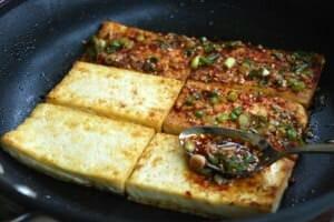 dubujorim (Korean braised tofu)