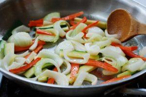 Ojingeo bokkeum (spicy stir-fried squid)