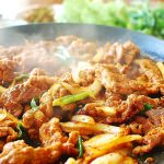 Jeyuk Bokkeum/Dweji Bulgogi (Korean Spicy Pork BBQ)