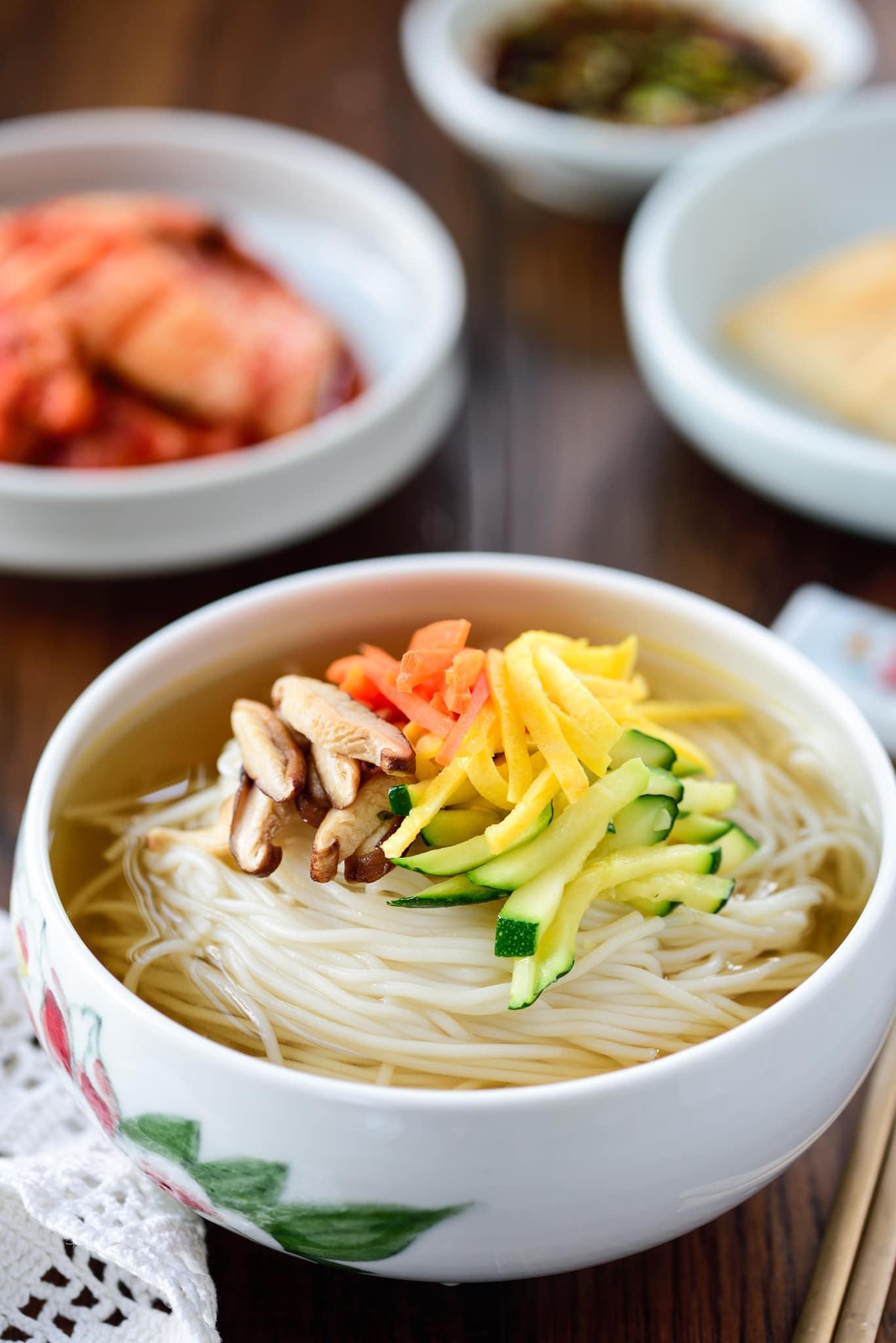 DSC9363 3 - Janchi Guksu (Warm Noodle Soup)