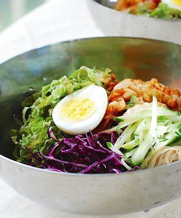 Bibim guksu new 360x433 - Bibim Guksu (Korean Spicy Cold Noodles)