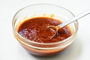 Spicy gochujang sauce for cold noodles