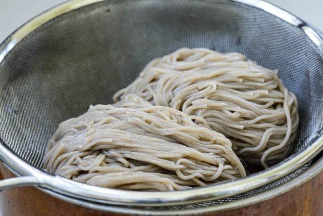 DSC9415 640x427 - Bibim Guksu (Spicy Cold Noodles)