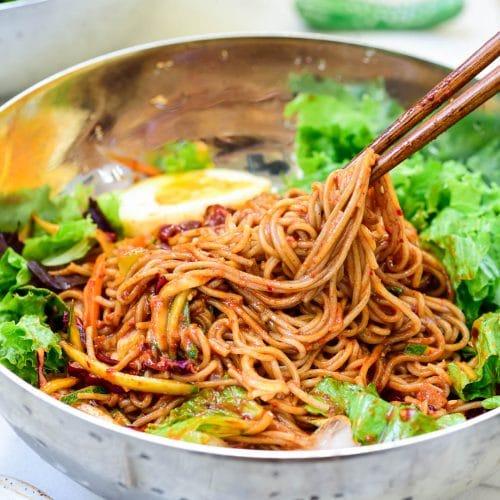 DSC9473 01 2 500x500 - Bibim Guksu (Spicy Cold Noodles)