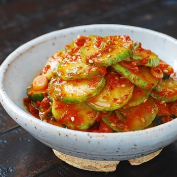DSC 0294 1 350x350 - Oi Muchim (Spicy Cucumber  Salad)