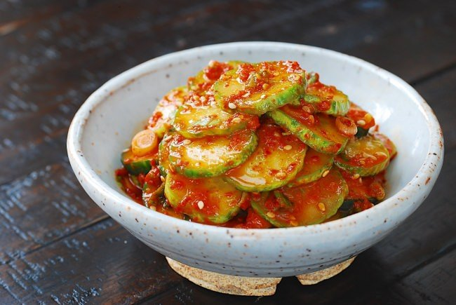 15 Korean Vegetable Side Dishes - Korean Bapsang