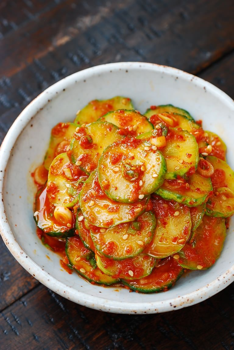 Spicy Cucumber Side Dish