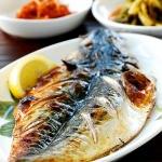 Godeungeo gui (grilled mackerel)