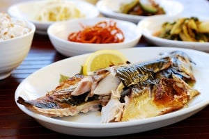 Godeungeo gui (grilled mackerel)