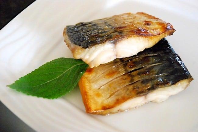 Grilled mackerel fillet (Godengeo Gui)