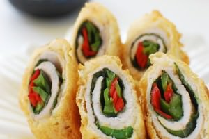 Deep-Fried Pork Rolls (Dwaegi Gogi Mari Twiguim)