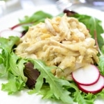 Chicken Salad with Pine Nut Dressing