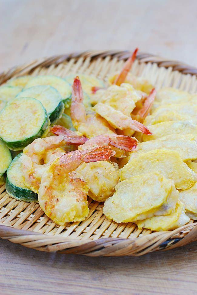 DSC 0480 1 e1475514901238 - Modeumjeon (Fish, Shrimp and Zucchini Jeon)
