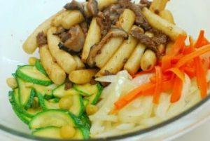 Gungjung tteokbokki (Korean Royal Court Rice Cakes)
