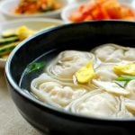 manduguk 150x150 - Tteok Mandu Guk (Rice Cake Soup with Dumplings)