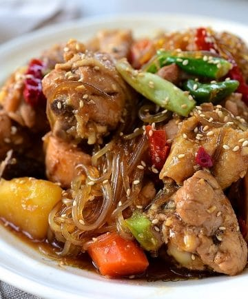 Jjimdak (Soy braised chicken)