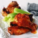 Korean flavored Chinken Wings 150x150 - Glazed Korean Meatballs (Wanja Jorim)