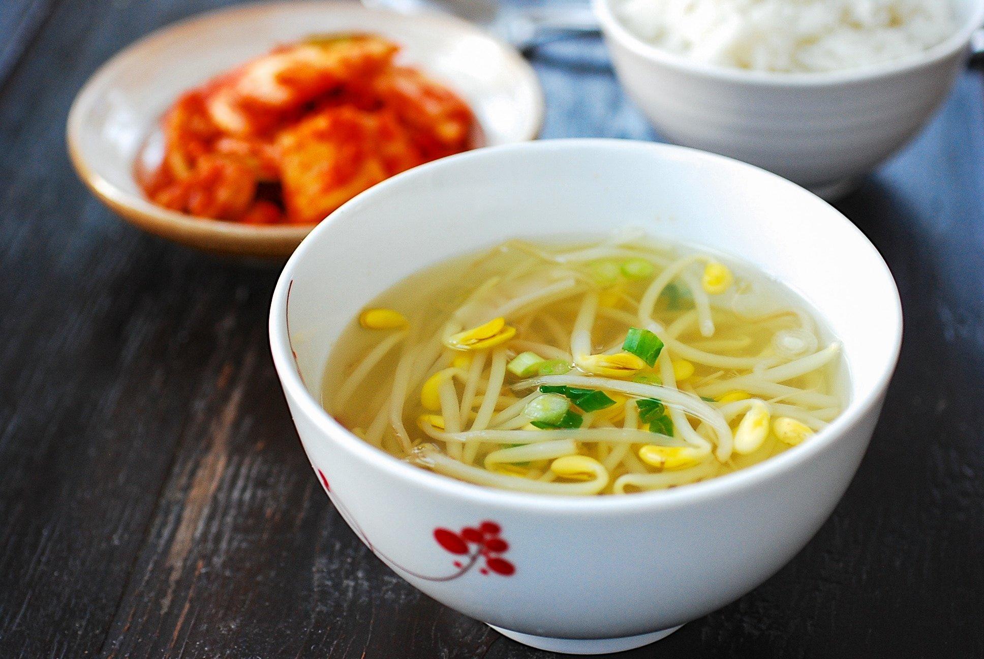 DSC 1933 1 - Kongnamul Guk (Soybean Sprout Soup)