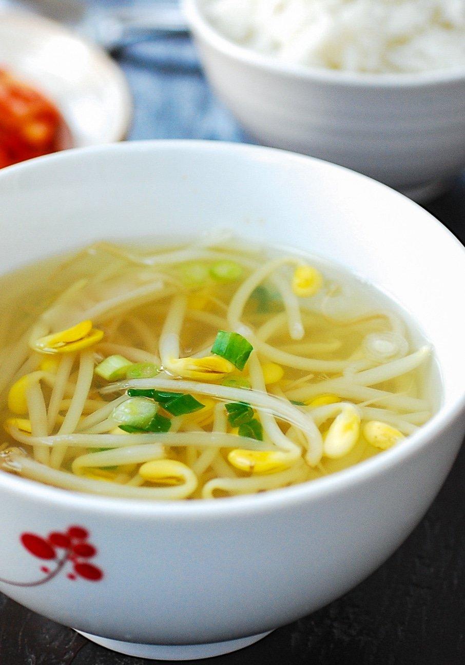 DSC 1933 2 - Kongnamul Guk (Soybean Sprout Soup)