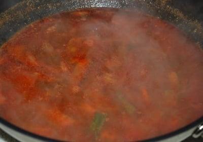 jjambbong6 e1539058729387 - Jjamppong (Spicy Seafood Noodle Soup)