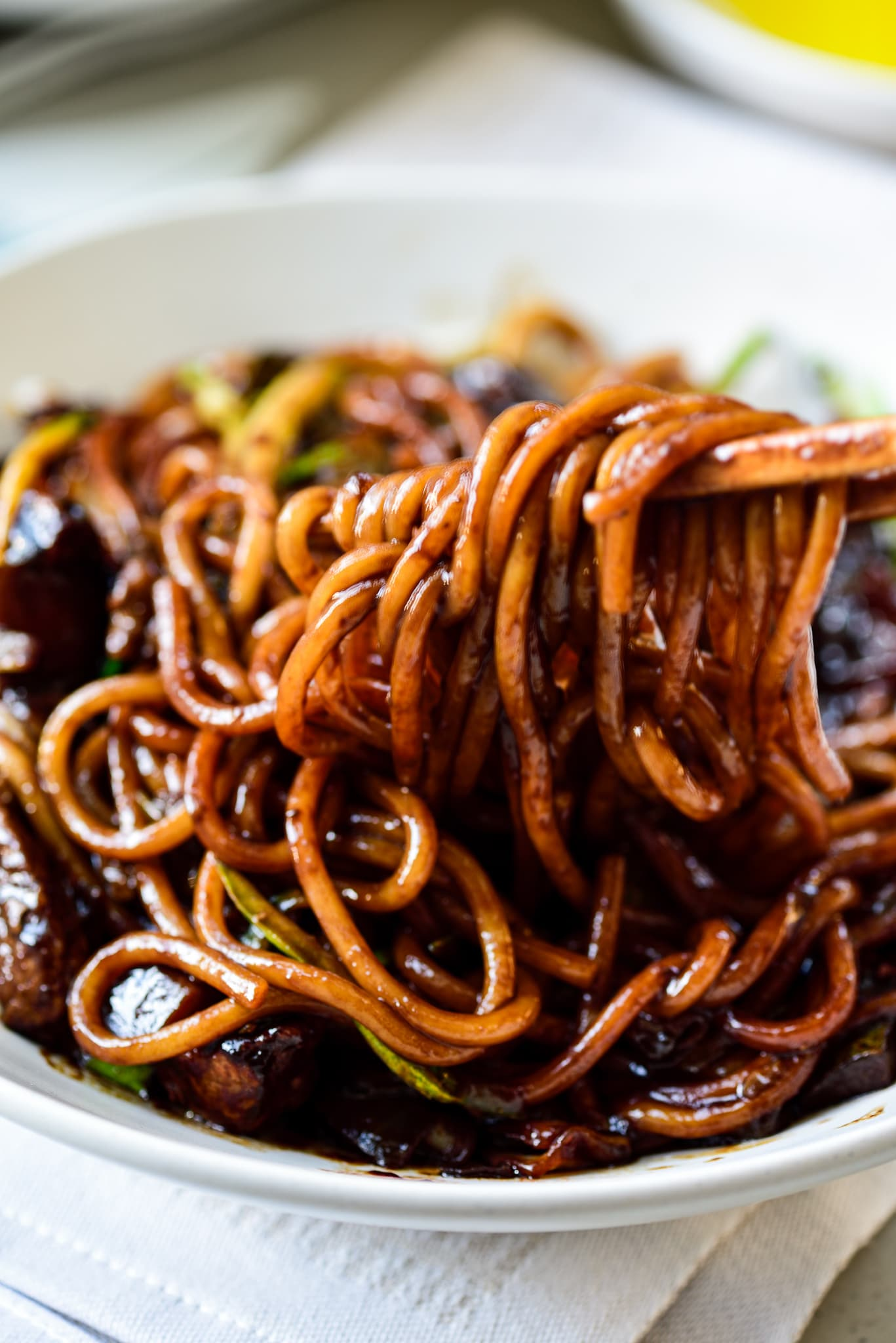 DSC1615 - Jajangmyeon (Noodles in Black Bean Sauce)