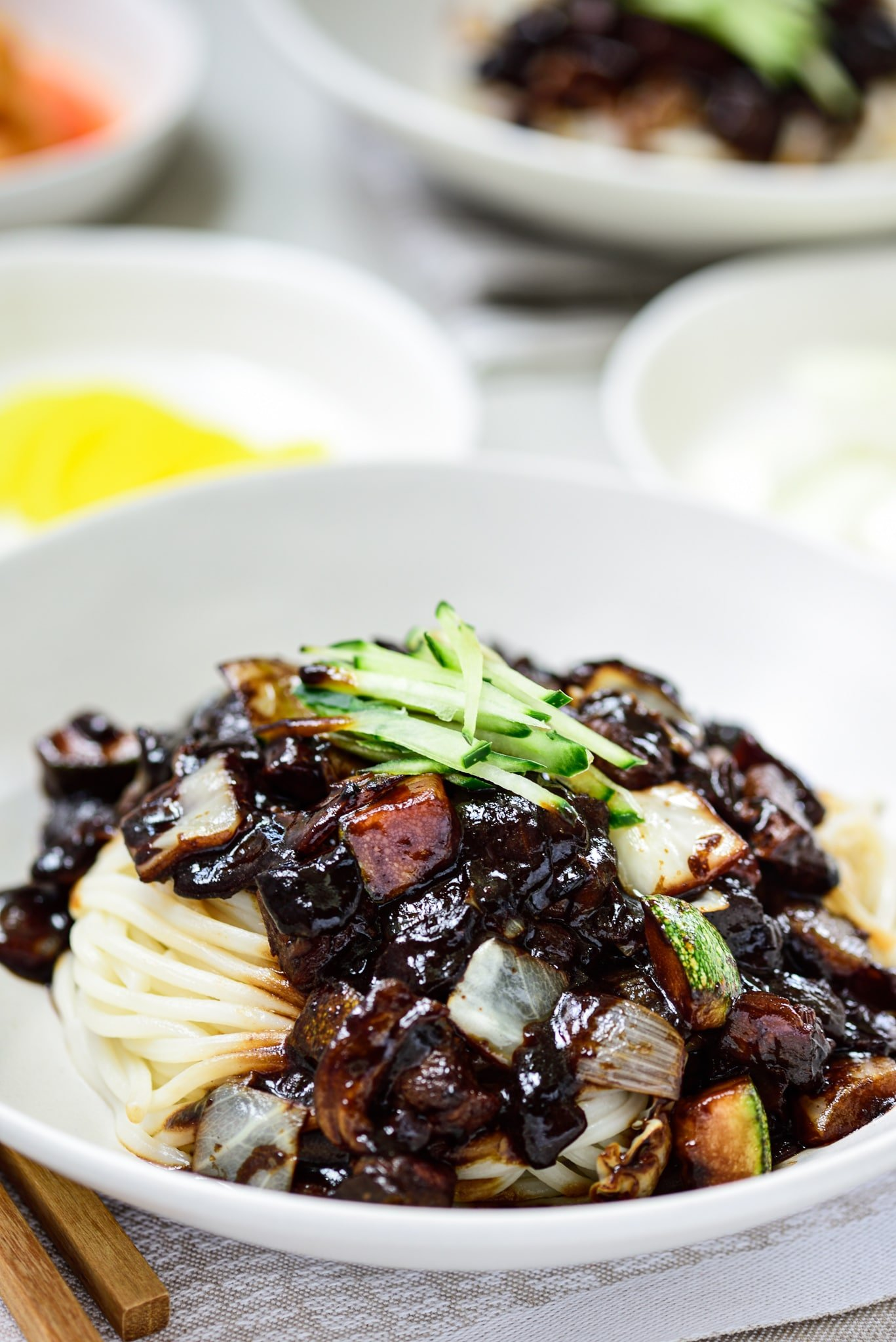 DSC1677 - Jajangmyeon (Noodles in Black Bean Sauce)
