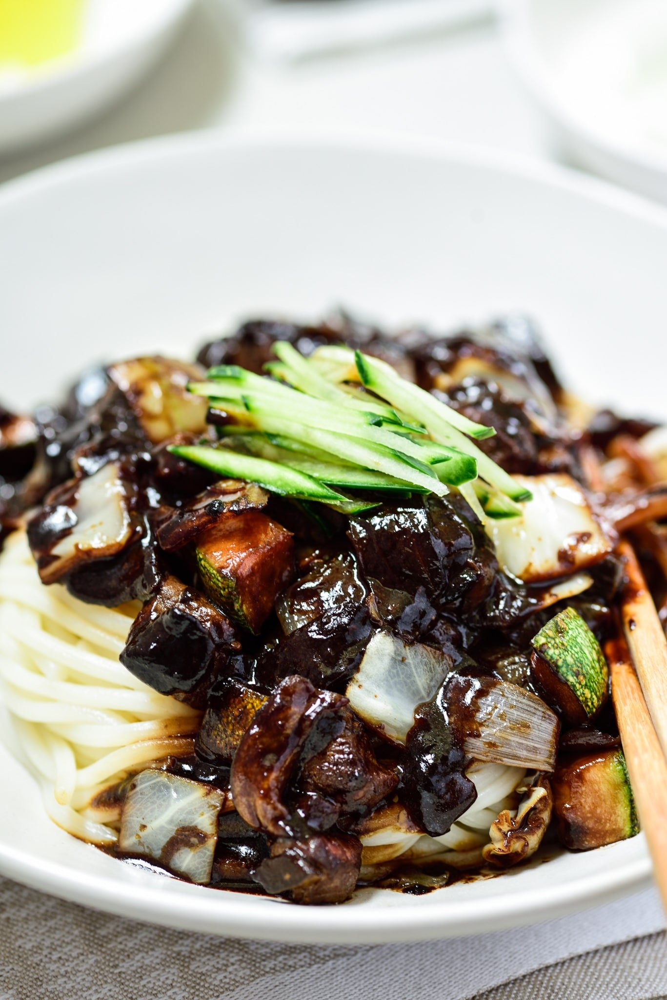 DSC1689 - Jajangmyeon (Noodles in Black Bean Sauce)