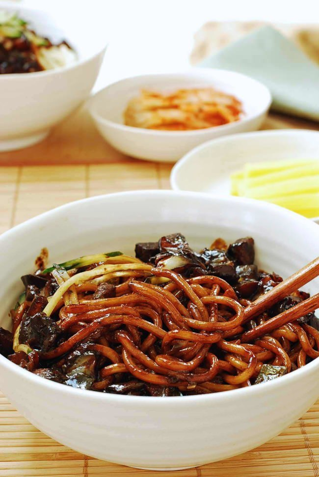 Jajangmyeon recipe