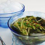 Oi Naengguk (Chilled Cucumber Soup)