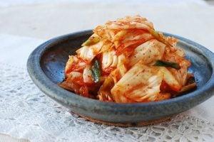 yangbaechu kimchi recipe 2 300x200 - Yangbaechu Kimchi (Green Cabbage Kimchi)