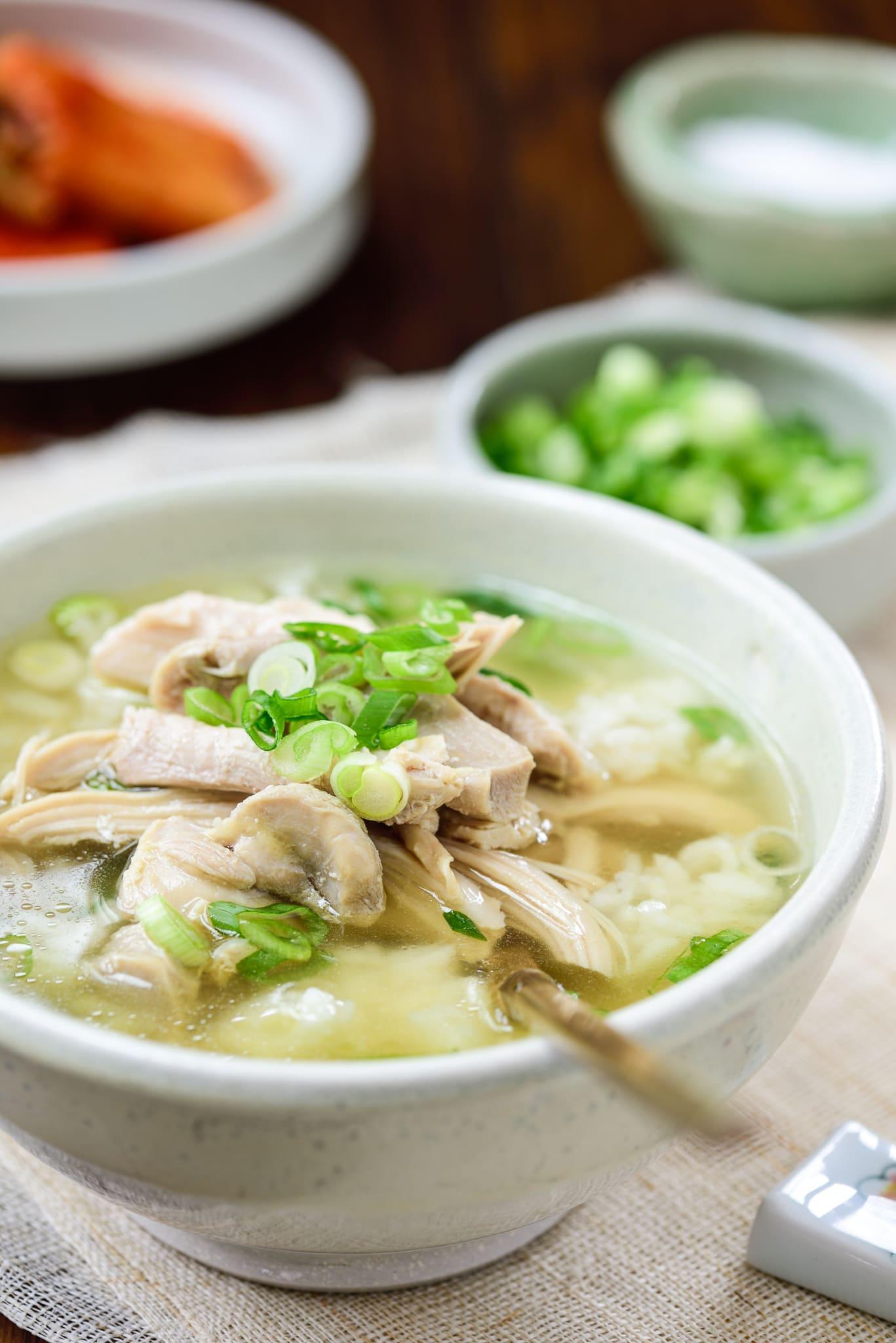 DSC9686 - Dak Gomtang (Korean Chicken Soup)