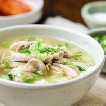 DSC9705 2 350x350 - Dak Gomtang (Korean Chicken Soup)