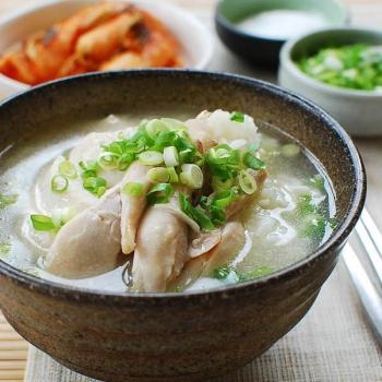 dak 2Bgomtang 350x350 - Dak Gomtang (Korean Chicken Soup)
