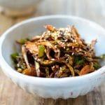 DSC 3493 e1553483536902 150x150 - Ojingeochae Muchim (Spicy Dried Squid Strips)