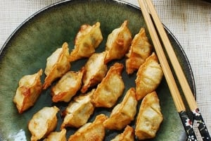 CJ Chicken and Cilantro Mini Wontons and Giveaway