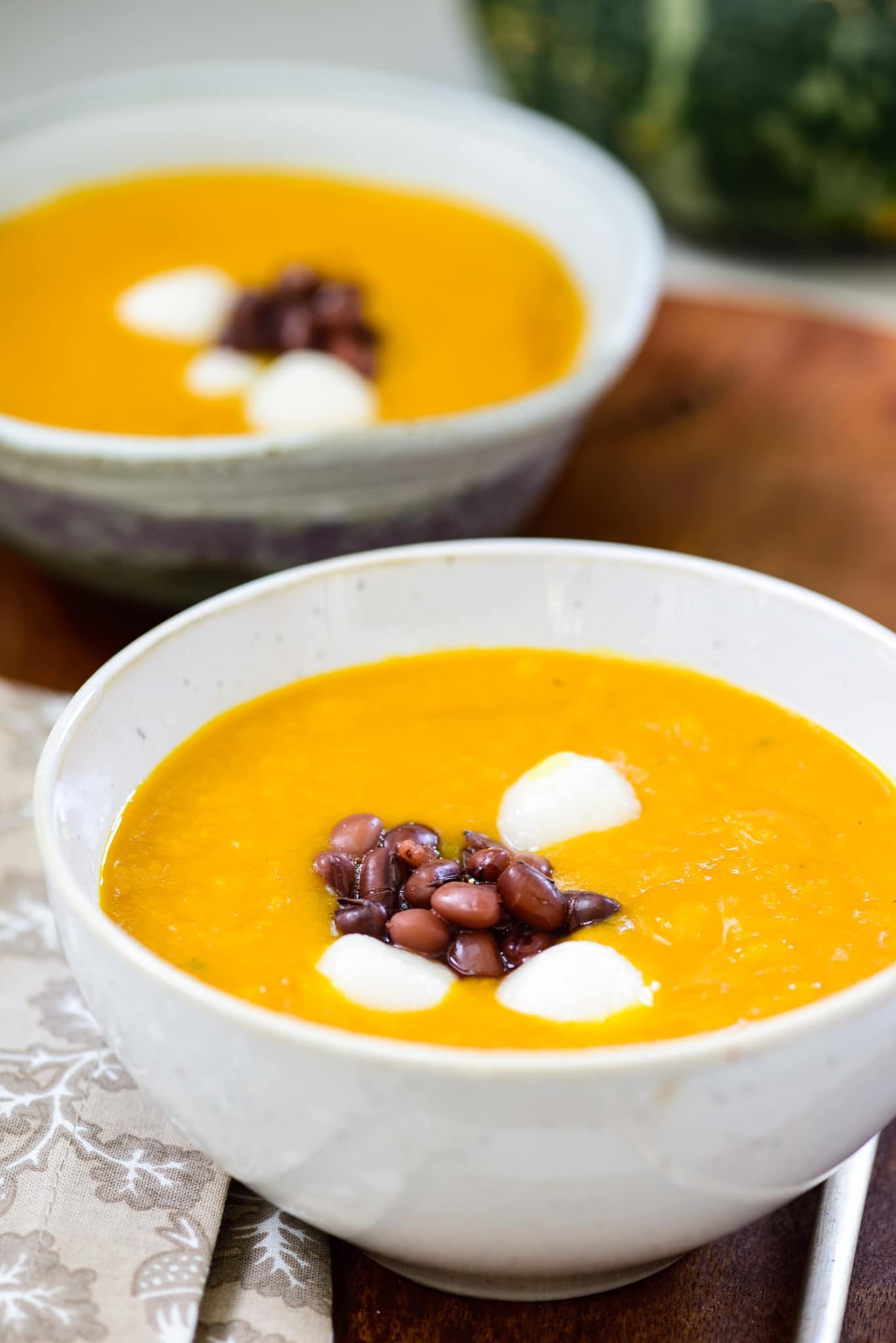 DSC4519 - Hobakjuk (Pumpkin Porridge)