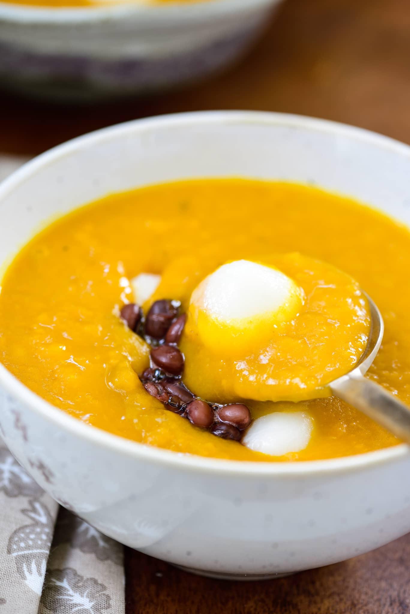 DSC4523 2 - Hobakjuk (Pumpkin Porridge)