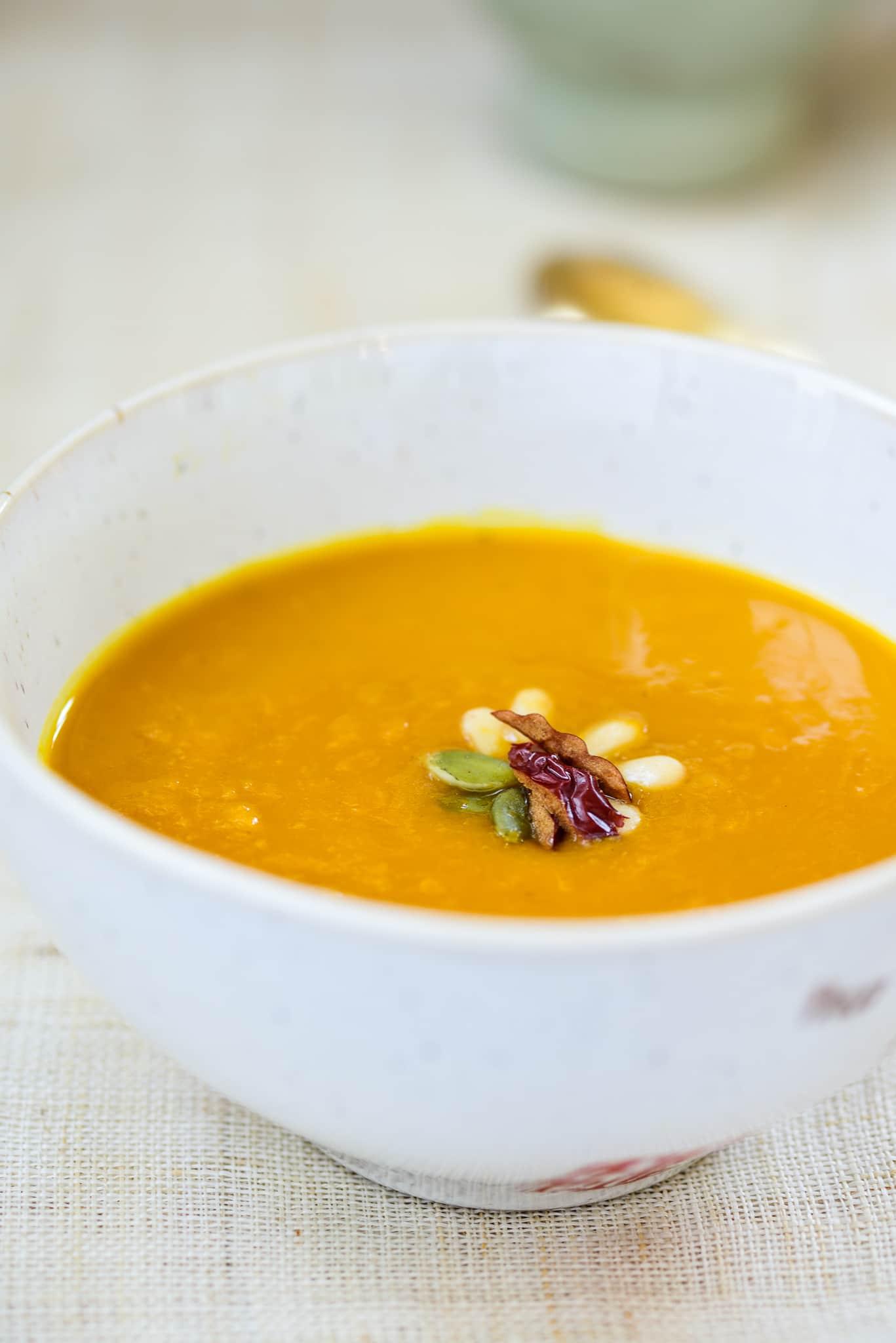 DSC4547 3 - Hobakjuk (Pumpkin Porridge)
