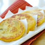 Hobak Hotteok (Sweet Stuffed Pumpkin Pancakes)