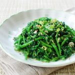 Watercress namul 150x150 - Gaji Bokkeum (Stir-fried Eggplants)