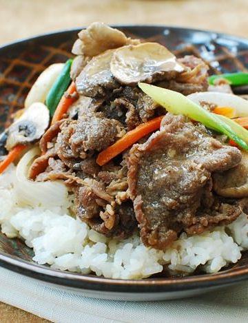 Bulgogi 2Bdoepbap recipe 2B2 360x469 - Bulgogi Deopbap (Bulgogi Rice Bowl)
