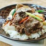Bulgogi doepbap recipe 2 150x150 1 - Bulgogi Deopbap (Bulgogi Rice Bowl)