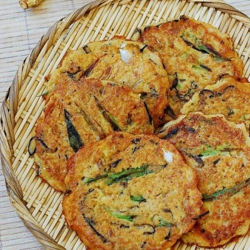 DSC 2814 1 e1537716727943 500x500 - Nokdujeon (Mung Bean Pancakes)