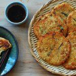 Nokdujeon (Savory Mung Bean Pancakes)